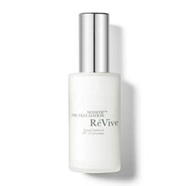 RéVive Sensitif Oil Free Lotion ($215)  Featuring antioxidants, this gentle oil-free lotion helps repair visible signs of aging, control excess oil and balances the troublesome t-zone.