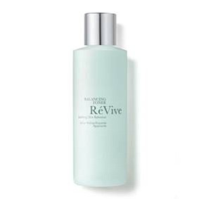 RéVive Balancing Toner ($65) A soothing skin refresher that prepares skin for the ultimate benefits of a RéVive treatment regimen.   Chamomile Flower Extract creates a refreshing toner that cleanses skin while restoring skin's healthy pH level.