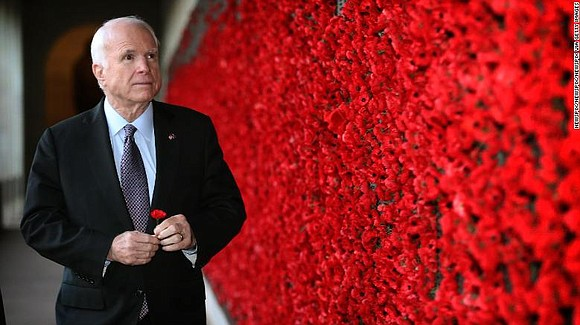 McCain, who has died at the age of 81, was a naval bomber pilot, prisoner of war, conservative maverick, giant ...