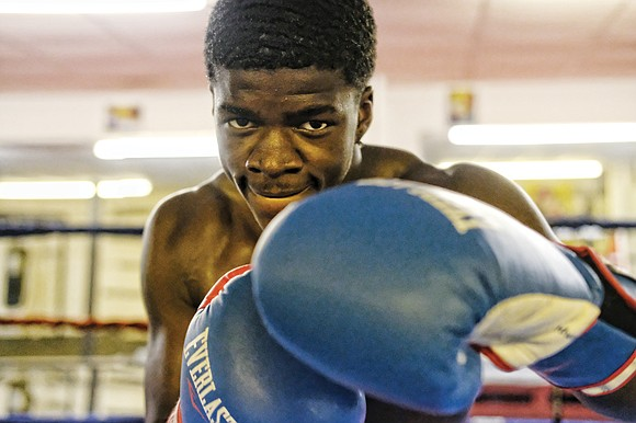 If anyone was ever born to box, it's 17-year-old Jermoin'e Royster, a George Wythe High School senior and member of ...