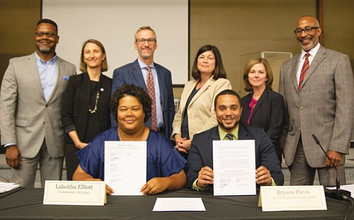 On Wednesday, Sept. 5, as co-chairs of the Hill Block Project Working Group, we signed a memorandum of understanding with ...