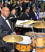 """Dr. Phil Butts with his 18 piece Big Band featuring vocalist """"Larzine,"""" will light up the stage at Painters Mill American Legion located at 4424 Painters Mill Road in Owings Mills  with the """"Diamonds in Jazz"""" Concert on Friday, September 21, 2018 from 7 p.m. to 10 p.m. Food and beverages will be on sale. For more information call 443-6764543 or American Legion at 410-363-1696."""