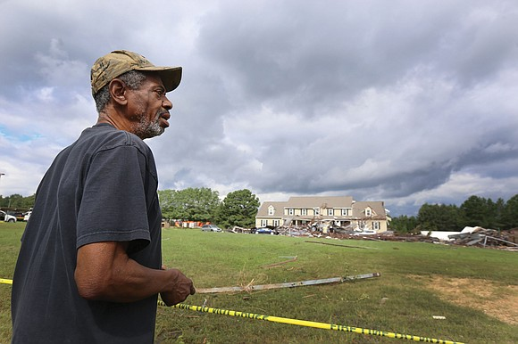 Remnants of Hurricane Florence swept Richmond into the national spotlight Monday when the storm's wide-reaching bands of high winds and ...