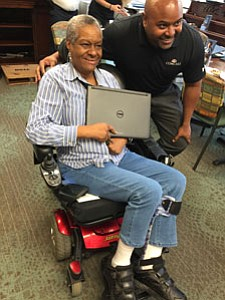 Comcast partnered with Weinberg Place to hold an Internet Essentials enrollment event on Wednesday, September 19, 2018, where the company ...