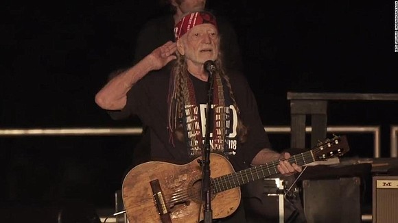 Country music legend Willie Nelson debuted a new election-themed ditty at a Texas rally for Senate candidate Beto O'Rourke on ...