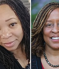 Mercy Corps instructor Bobbie Stewart (left) brings a strong entrepreneurial background to her students as the founder of two Oregon-based businesses; Karen Y. Spencer brings over 25 years of business and legal experience to Mercy Corps Northwest.