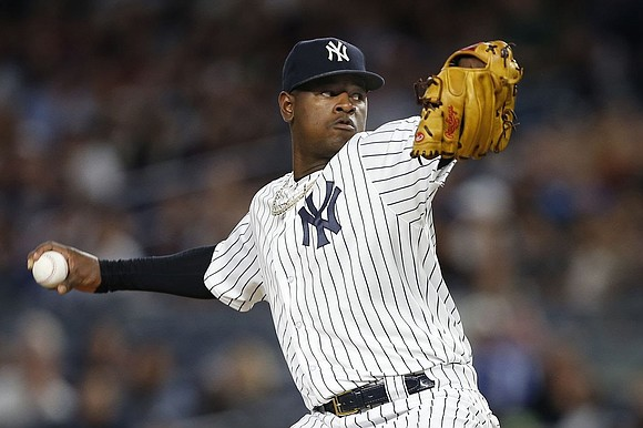 When Yankee pitcher Luis Severino took the mound last night against the Oakland A's, nothing else mattered but the nine ...
