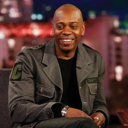 Political activist and former NFL QB Colin Kaepernick and comic Dave Chappelle are two of eight..