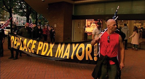 After rival political factions broke into a bloody street brawl in downtown Portland again Saturday night, Mayor Ted Wheeler called ...