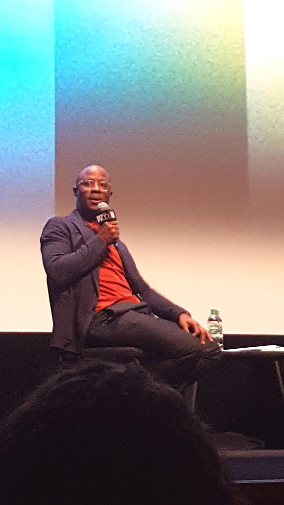 On a muggy day that felt more like August than October, Oscar winner Barry Jenkins took to the stage for ...