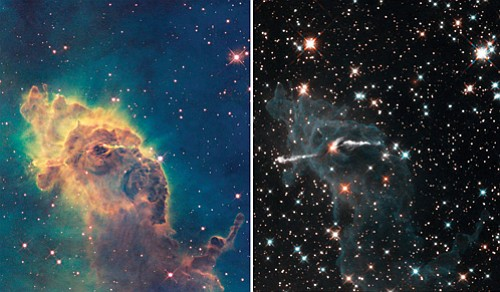 From afar, shimmering stars set in the night sky seem peaceful and tranquil. However, telescopic images can paint a different ...