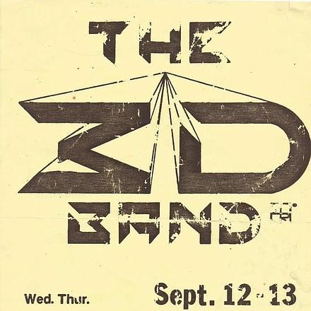3D Band Geneva's Flier .