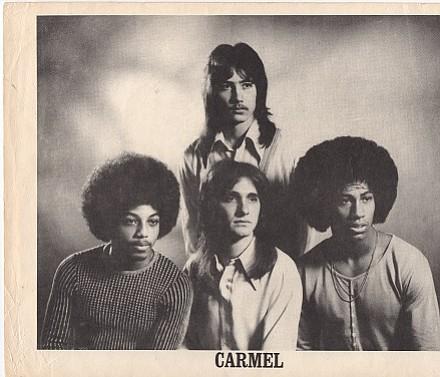 Carmel, 1974. Pictured: Jackie Gilbert, Joey Barber, Steve, Leslie White.