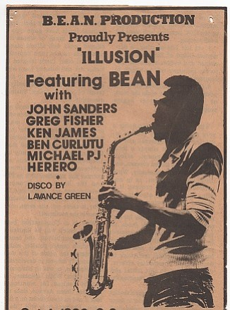 Illusion Band Flier for 1980 Royal Esquire CLub performance.