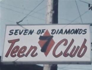 Seven Of Diamonds club.