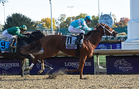 Longines served as Official Partner, Timekeeper, and Watch of the 35th Breeders' Cup World Championships in Louisville, Kentucky, on Friday ...
