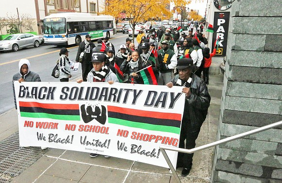 The Black Solidarity Day Coalition 2018 recaptured the essence of Dr. Carlos Russell's initial vision of collective political and economic ...