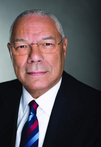 Former Secretary of State Colin Powell said he no longer considers himself a member of the president's party..