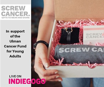 The Screw Cancer Campaign was launched on the crowdfunding platform, www.INDIEGOGO.com runs until December 15, 2018.