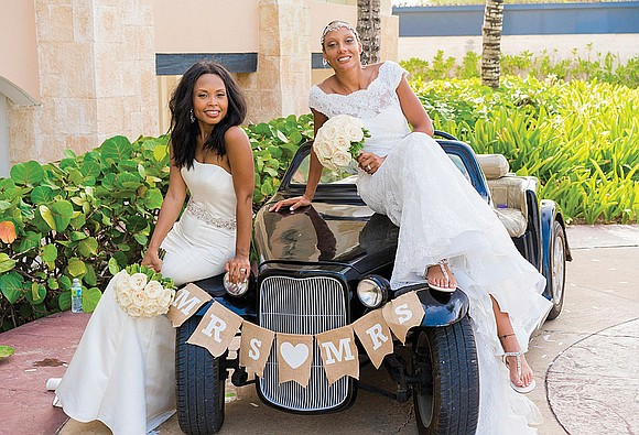 Dr. Sesha Joi Moon and Janice Pritchett of Northern Virginia tied the knot in two ceremonies, including a destination wedding ...