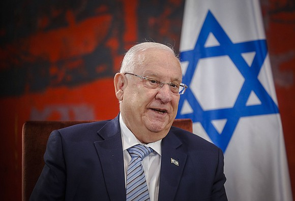 "Anti-Semitism and the hatred of minorities ""corrupts society,"" Israeli President Reuven Rivlin warned in an exclusive interview with CNN."