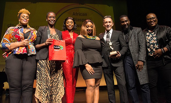 The Society for Africans in Diaspora held their eighth annual African Diaspora Awards at the Schomburg Center for Research in ...