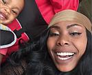 Jazmine Headley and her son