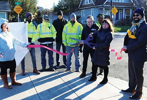 Portland city officials are celebrating the newly-completed Southeast 50th Avenue Paving Project, part of a Fixing Our Streets initiative paid ...