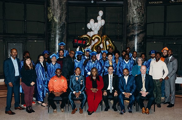 Two elected officials partnered with an organization to celebrate graduates of a per-apprenticeship program in the Bronx.