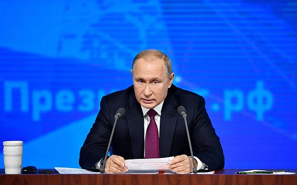 Russian President Vladimir Putin on Thursday addressed concerns about the growing risks of a new nuclear arms race as he ...
