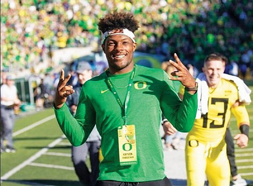 The University of Oregon has landed five-star defensive end Kayvon Thibodeaux, ESPN's top overall college football prospect in the country ...