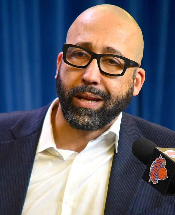 It's been almost two weeks since Knicks president Steve Mills and general manager Scott Perry held a stunning and impromptu ...