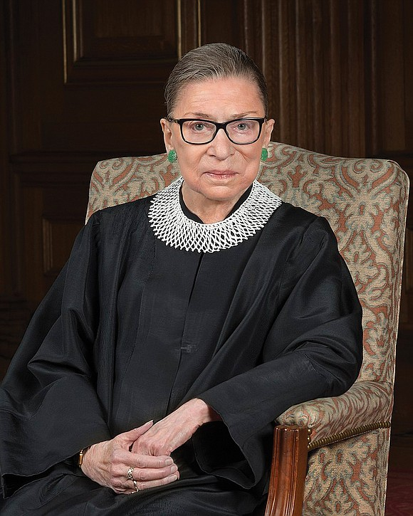 Jennifer Carroll Foy remembers the moment that U.S. Supreme Court Justice Ruth Bader Ginsburg changed her life.