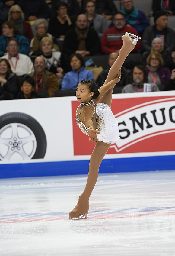 This season has been her first on the Grand Prix circuit, and settling into the upper echelons of competitive skating ...