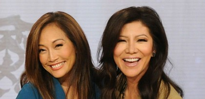 Carrie Ann Inaba and Julie Chen