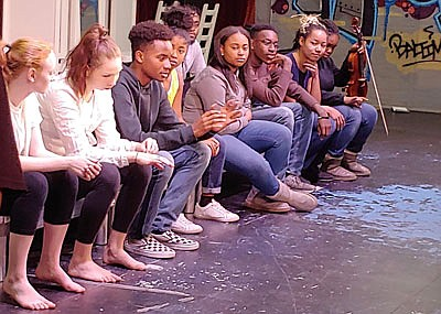 Faith Bender; Grace Cassar; Jared Adams; Ui-seng Francois; Noelle Young Davis; Terrence Martin; Jade Underwood; and Catherine Davis.