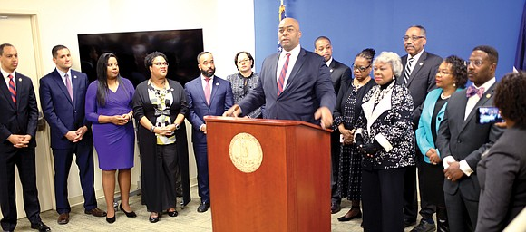The Virginia Legislative Black Caucus on Wednesday outlined a legislative agenda that addresses education, civil rights, voting rights and criminal ...