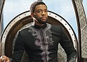 "Chadwick Boseman in a scene from the Marvel superhero juggernaut ""Black Panther"" (Photo courtesy Marvel Studios-Disney)"