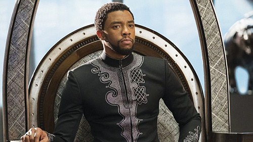 The late actor Chadwick Boseman of Black Panther fame is inducted into the Portland Chapter of Black Male Achievement.