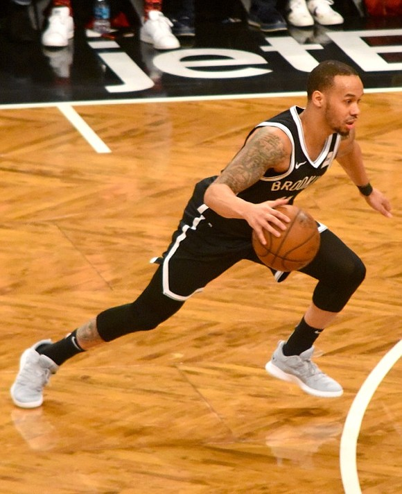 """""""I didn't know that. I think that says we're ahead of schedule,"""" said Kenny Atkinson, Brooklyn's head coach, happy about ..."""