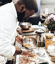 Chef Dorien Murphy started in the culinary industry as a cook at the Elkridge Country Club in Baltimore where  he honed his skills, Murphy now is making a name for himself, cooking for businesses and private clients in Baltimore, Washington, Philadelphia and New York.