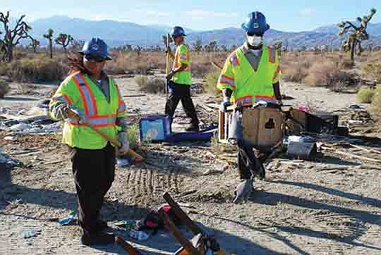 """The city of Palmdale's """"Season of Service"""" will continue on Saturday, March 2.."""