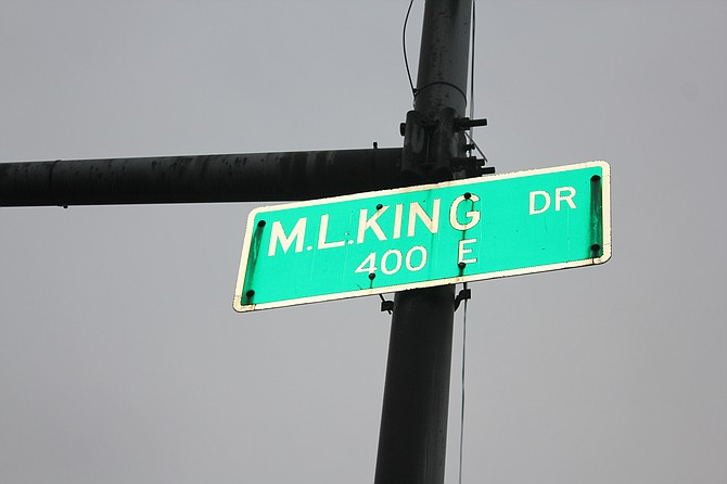 After first being named Grand Boulevard and then South Park Way it was renamed Dr. Martin Luther King Jr. Drive in 1968. In Chicago the street spans 14 miles and begins just south of East Cermak Road and four blocks east of South Michigan Avenue before ending at 115th Street. Photo by Wendell Hutson.