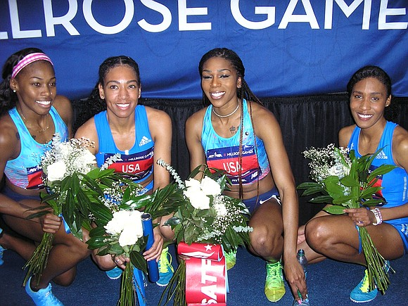Competing at the NYRR Millrose Games at the Armory in Washington Heights this Saturday will be a heartfelt part of ...