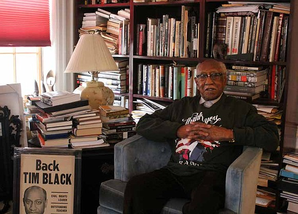 These days Timuel Black, a historian and civil rights activist, can walk without a cane, travels around town alone and ...