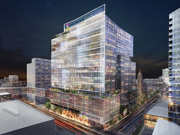 Construction is set to start in a few months on a $350 million, 92-bed hospital for children on the medical ...