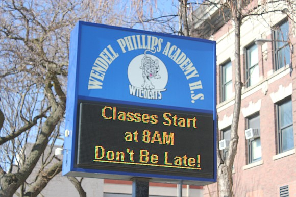 When Wendell Phillips Academy High School was built in 1904, it became the first public high school in Chicago to ...