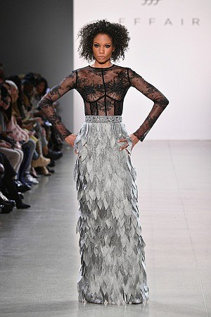 For Fall '19, Affair's designer Rufat Ismayel brought glamour and lots of sparkle to Spring Studios for the Final Day ...