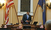 Lt. Gov. Justin E. Fairfax's impromptu impassioned speech Sunday to the state Senate was met by silence. Moments before, he had been applauded by the 40 senators for his professionalism during the General Assembly session while dealing with piercing allegations.