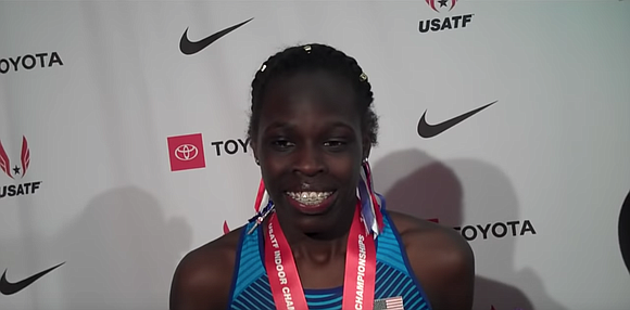 Athing Mu is a prodigy, even her elite opponents at the USA Track and Field Indoor Championships were stunned by ...